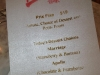 A menu so good....