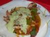 Tacos El Gordo al pastor taco