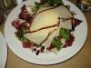 Arugula/raddichio salad