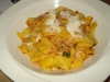 Pappardelle with sausage