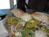 Brisket sandwich at The Beat