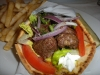 Kefte kebab gyro