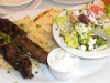 Kefte kebab platter
