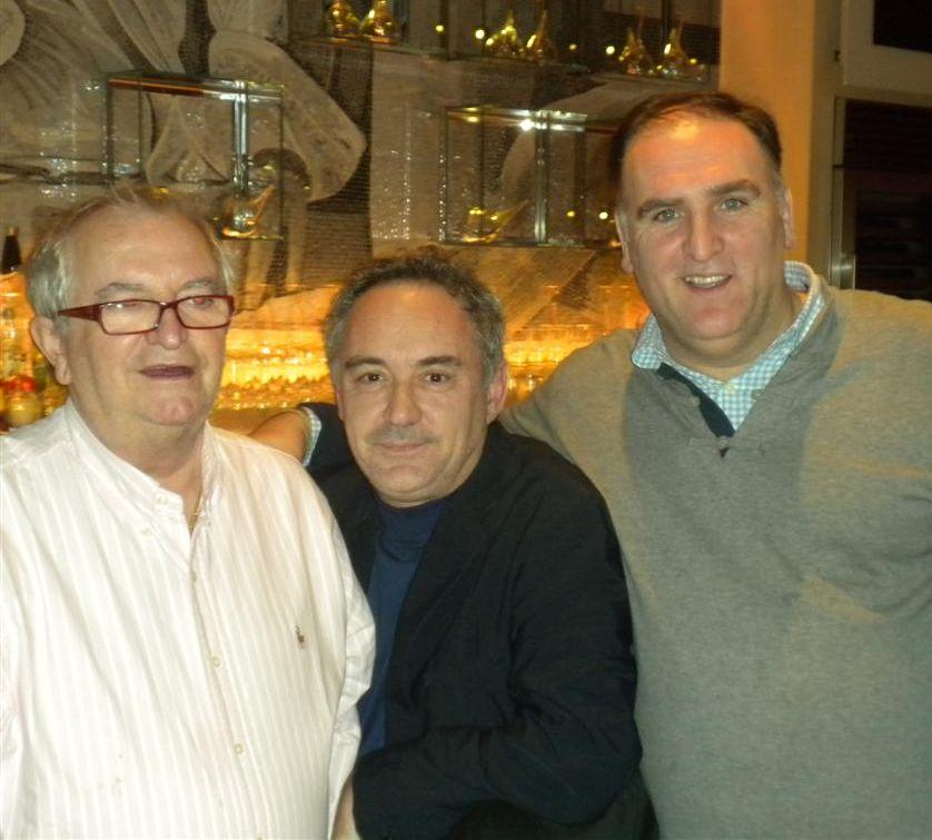 Tres amigos a Jaleo