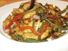 Chicken Thai basil stir fry