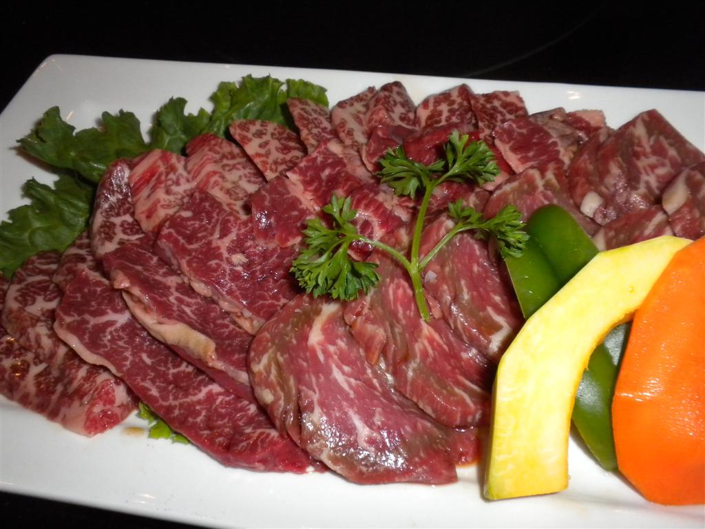 Prime, succulent slices at Yagyu