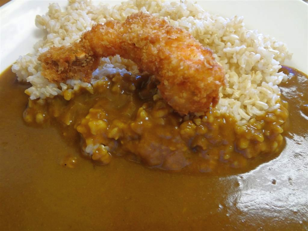 Shrimp with Original Curry